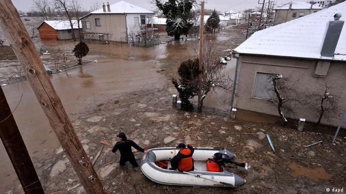 Überschwemmungskatastrophe in Bulgarien