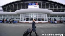 Außenansicht des internationalen Flughafens Kiew-Boryspil