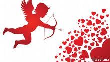 Symbolbild Herz Valentinstag Liebe Amor