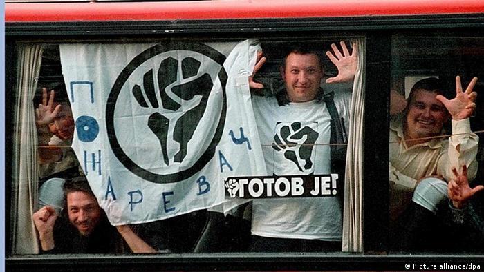 Studenten fordern Milosevic-Rücktritt