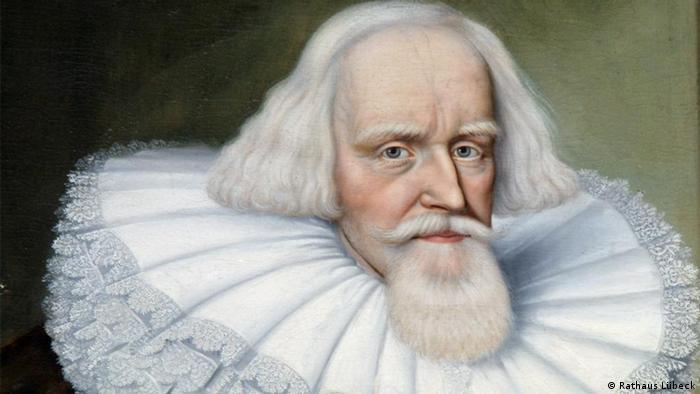 Портрет одного из бургомистров Любека в городской Ратуше