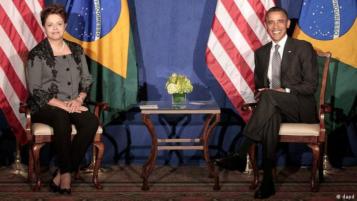 Brasilien USA Rousseff Obama