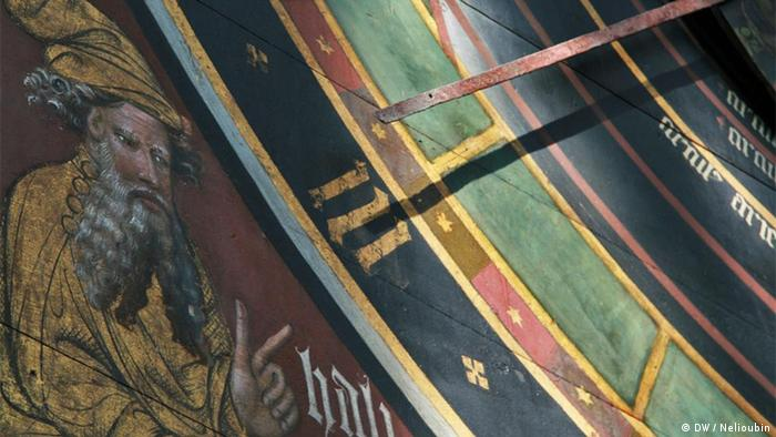 Астрономические часы в церкви Святого Николая в ганзейском городе Штральзунде