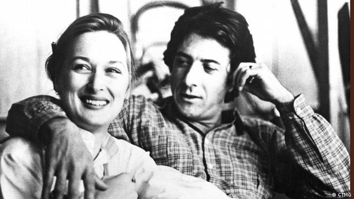 "Meryl Streep i Dustin Hoffman tokom snimanja flma ""Kramer protiv Kramera"""