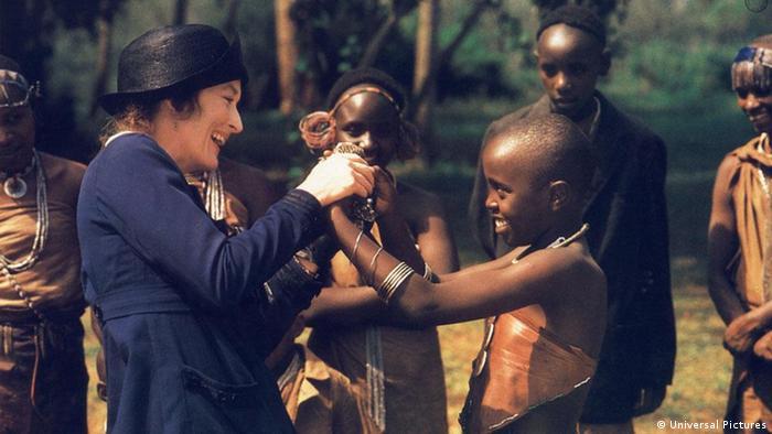 Scena iz filma Moja Afrika (1985.)