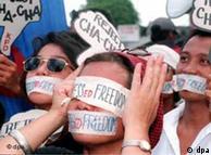 مظاهرة من أجل حرية الصحافة