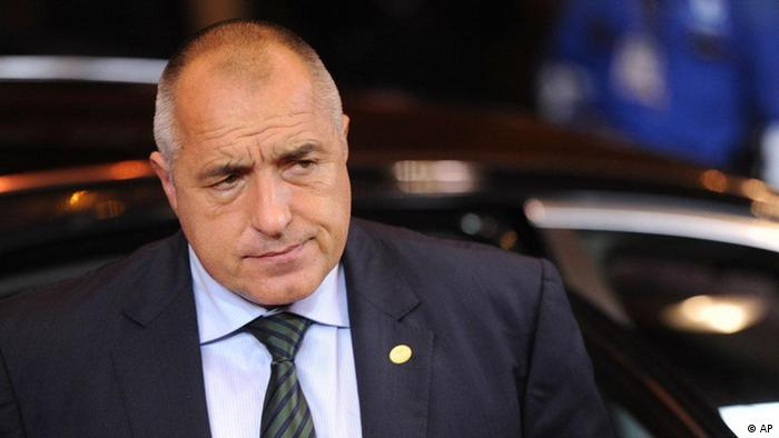 Bulgarien Premierminister Bojko Borissow