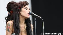 Amy Winehouse beim V Festival in Chelmsford