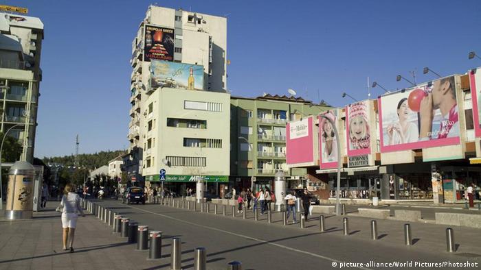 Montenegrinische Hauptstadt Podgorica