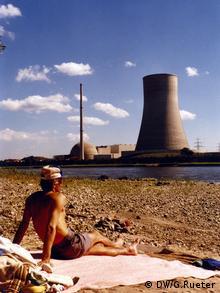 AKW Mülheim Kärlich 1984 (Foto: DW, Gero Rueter)