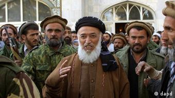 Former Afghan President Burhanuddin Rabbani