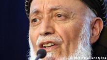 برهانالدین ربانی، رئیس پیشین شورایعالی صلح افغانستان که در سپتامبر ۲۰۱۱ ترور شد