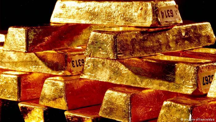 德国联邦银行的黄金储备