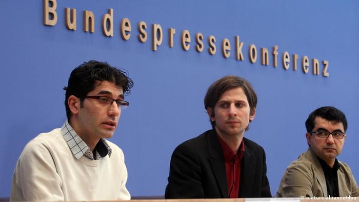 کنفرانس مطبوعاتی اپوزیسیون سوریه در برلین