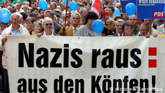 Anti-Neonazi march in Dresden