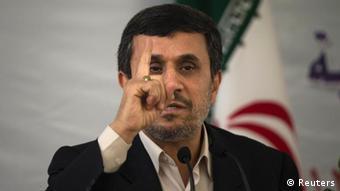 Iranian President Mahmoud Ahmadinejad (REUTERS/Morteza Nikoubazl)