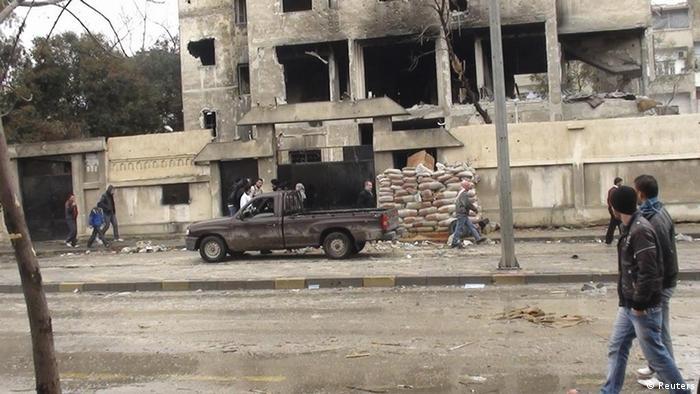 Syrien Homs Gewalt (Reuters)