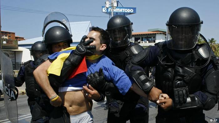 Symbolbild Gewalt in Venezuela