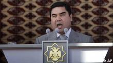 Turkmenistan / Berdymuchamedow / Berdymukhamedov / Präsident