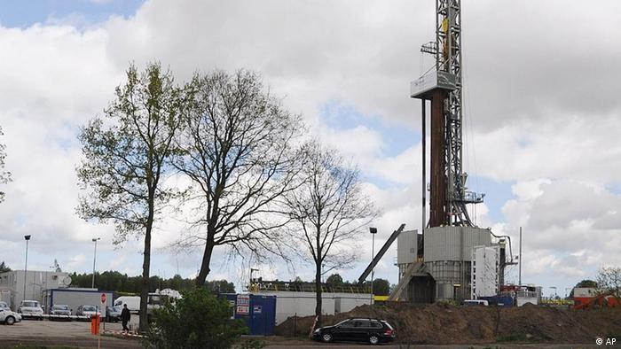 Установка для добычи сланцевого газа в Польше