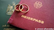 Symbolbild binationale Ehen, multikulturelle Ehe