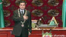 Gurbanguly Berdymuchammedow Präsident von Turkmenistan