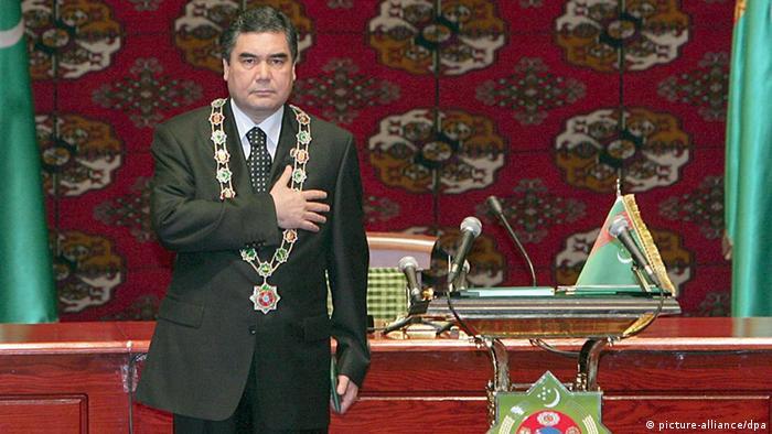Президент Туркменистана Гурбангулы Бердымухамедов (фото из архива)