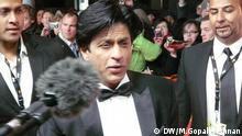 Bollywood superstar Shahrukh Khan auf dem roten Teppich Berlinale 2012