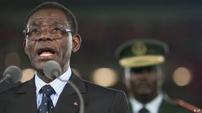 O Presidente Teodoro Obiang e a família estão entre os mais ricos do mundo