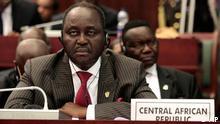 Präsident von Zentralafrika Francois Bozize