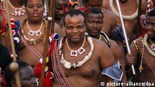 King Mswati III. (picture-alliance/dpa)
