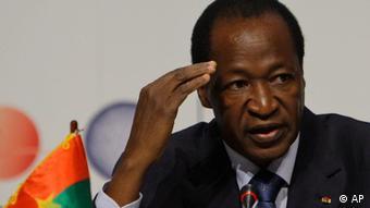 Blaise Compaoré Präsident Burkina Faso