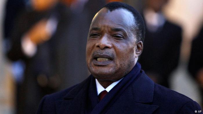 Kongo Präsident Denis Sassou-Nguesso