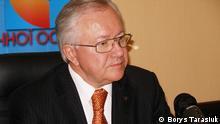 Ukrainischer Parlamentsabgeordneter und ehemaliger Außenministers Borys Tarasiuk. Nutzungsrechte wurden eingeräumt, sie liegen ursprünglich bei Borys Tarasiuk. Das Bild wurde im Oktober 2011 in Kiew aufgenommen. Zugestellt von Yevgen Teyze
