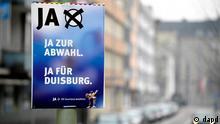 Duisburg Wahlen Buergerentscheid