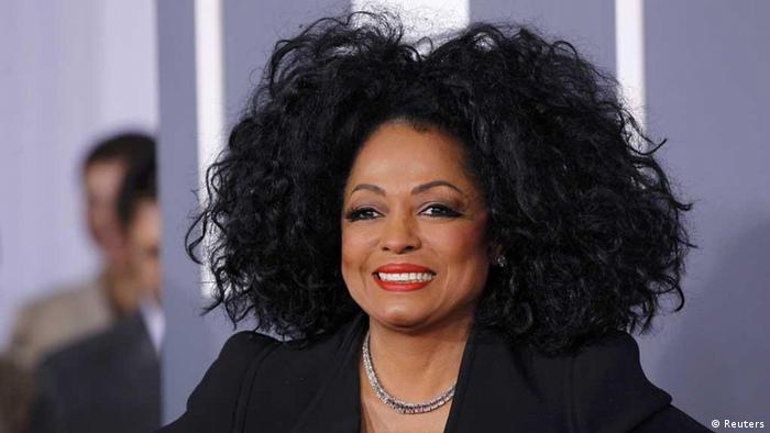Diana Ross at the 2012 Grammy Awards