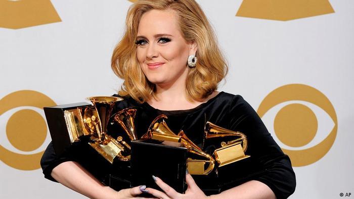 Grammy Awards 2012 Adele (AP)