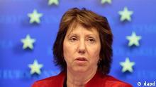 Treffen EU-Außenministerrat in Brüssel Catherine Ashton