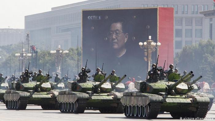 中国60周年国庆阅兵游行(资料图片)