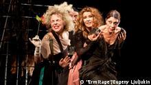 Premiere Mutter Courage und ihre Kinder im Moskauer Theater Ermitage Copyright: Ermitage/Eugeny Ljuljukin 10.02.2012, Moskau