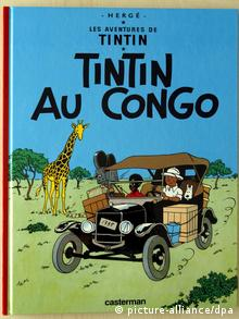Cover of Tintin in Congo comic book (picture-alliance/dpa)