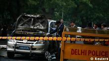 Indien Israel Anschlag auf israelische Diplomaten in New Delhi