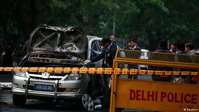 انفجار بمب در نزدیکی سفارت اسرائیل در دهلی نو
