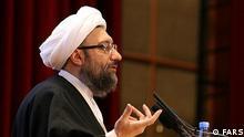 صادق لاریجانی، رئیسقوه قضاییه از برخورد جدی با متهمان خبر داد