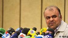 Iran Erdöl Minister Rostam Ghasemi ( Ghassemi )