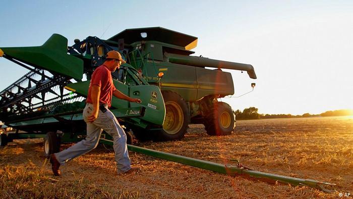 Monsanto farmer in the US