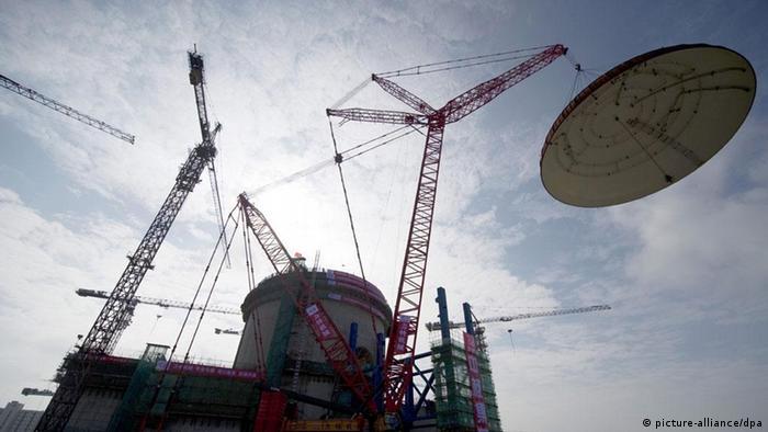 China Atomkraftwerk Baustelle Tangxing