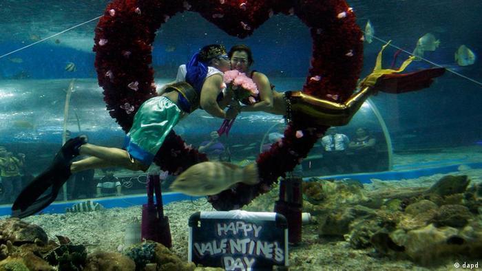 Bildergalerie zum Valentinstag 2012 (dapd)