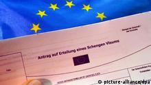 Antrag auf Erteilung eines Schengen-Visum