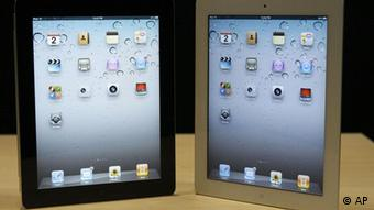 Two iPad 2's side by side